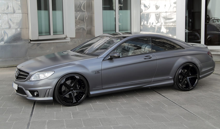 Interior window frames - Official Mercedes Benz Cl65 Amg Special Grey Stone