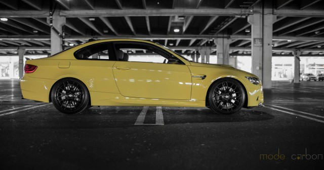 Official: Dakar Yellow BMW E92 M3 by Mode Carbon