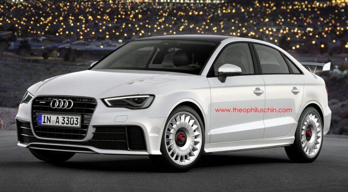 Render: Audi RS3 Sedan by Theophilus Chin