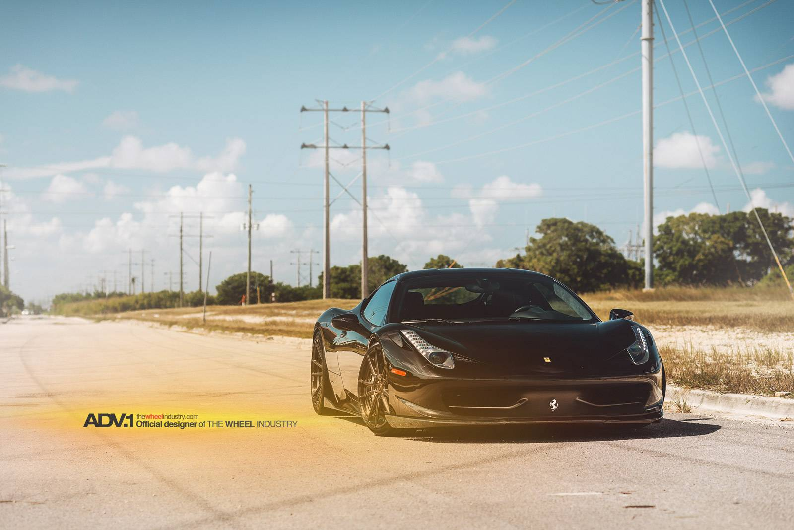 Ferrari 458 Italia 2013 Blacked Out