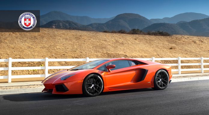 Photo Of The Day: Arancio Argos Lamborghini Aventador on HRE Wheels