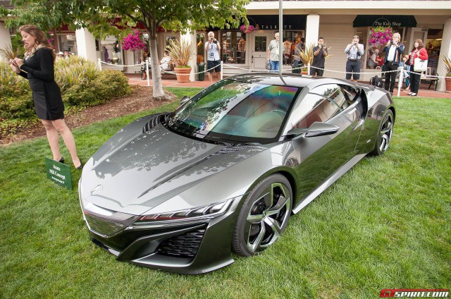Acura NSX at Pebble Beach