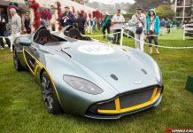 Aston Martin CC100 Speedster Concept at Pebble Beach 2013