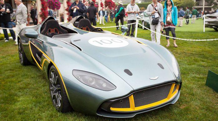 Aston Martin CC100 Speedster Concept at Pebble Beach 2013