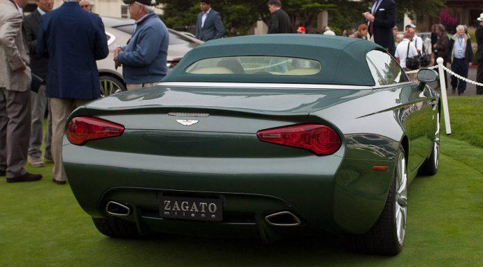 Aston Martin DB9 Spyder Zagato Centennial Rear