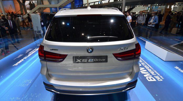 BMW Concept X5 eDrive Rear