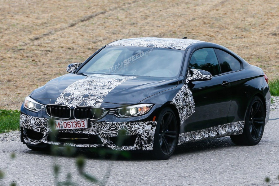 Spyshots: 2014 BMW M4 Spotted With Minimal Camouflage