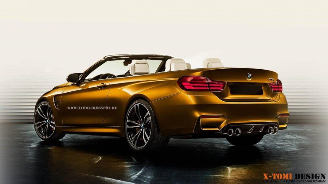 Render: 2015 BMW M4 Convertible