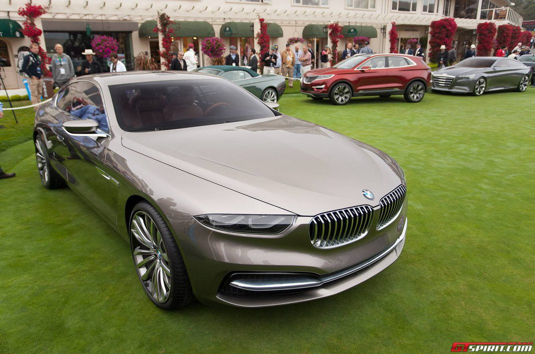 BMW Pininfarina Gran Lusso Coupe at Pebble Beach Front