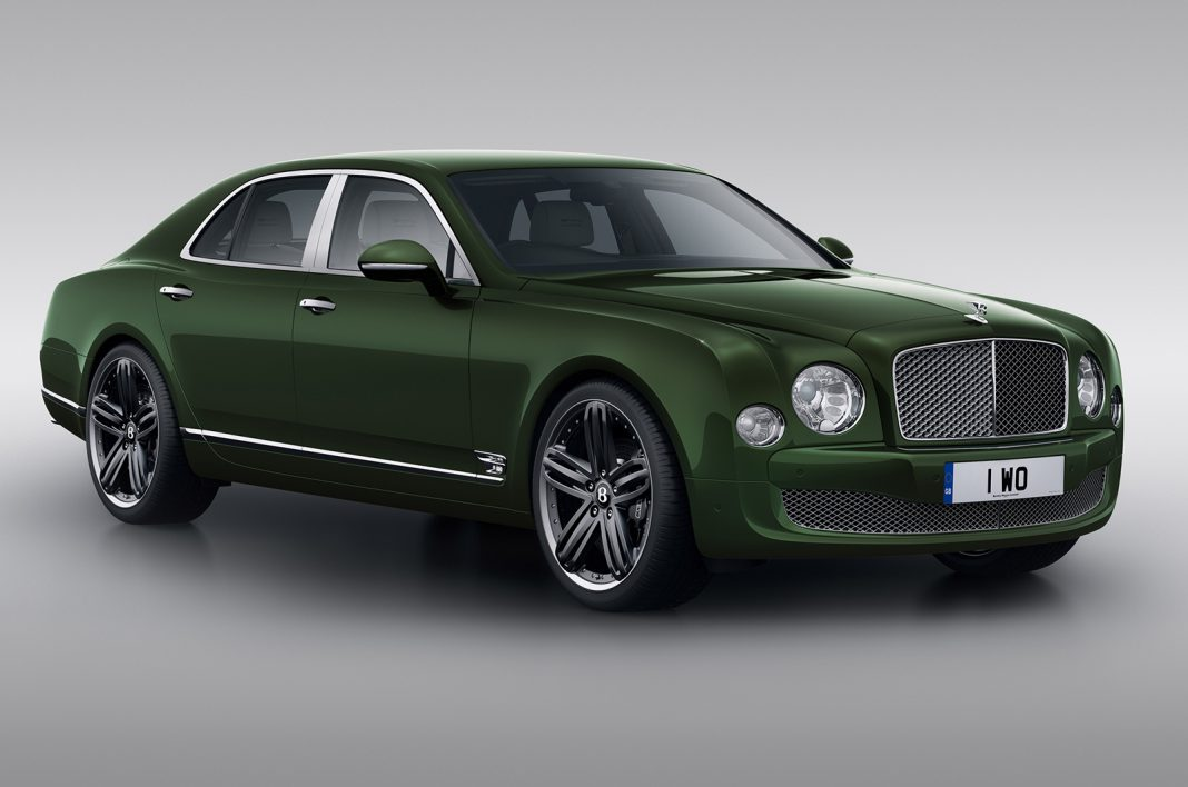 Bentley Mulsanne Le Mans Limited Edition Debuting at Pebble Beach 2013