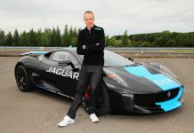 Tour de France Winner Chris Froome Tests Jaguar C-X75