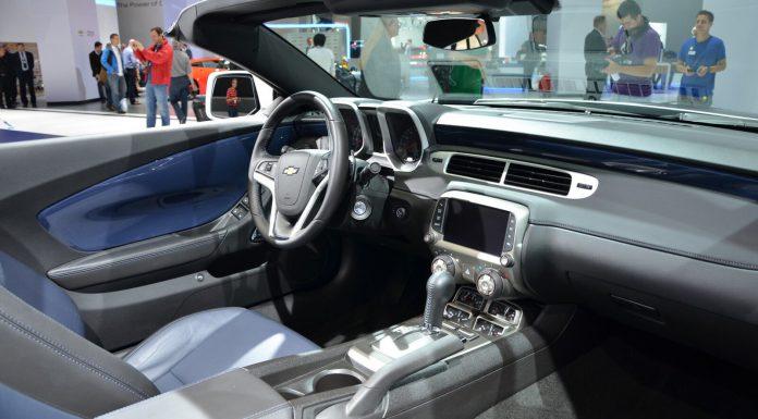 Camaro Convertible at Frankfurt Interior