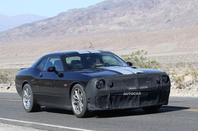 Spyshots: 600hp+ 2015 Dodge Challenger SRT8