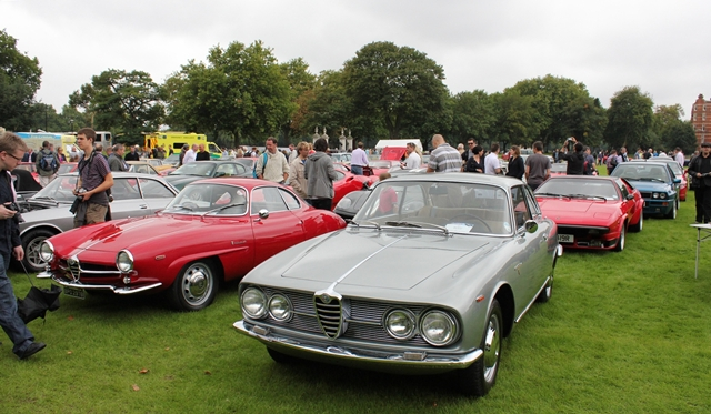 96 Club hosts the Grand Chelsea Rendezvous at the Royal Hospital Chelsea