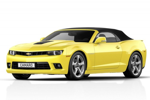 2014 Chevrolet Camaro Convertible Previewed
