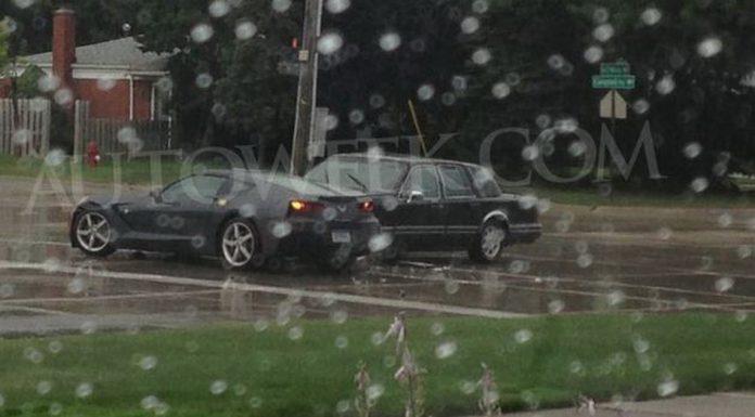 Car Crash: Lincoln Hits 2014 Chevrolet Corvette Stingray