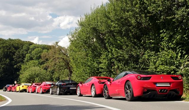 Gallery: Ferrari Gathering near Osnabrück by Fabian Räker