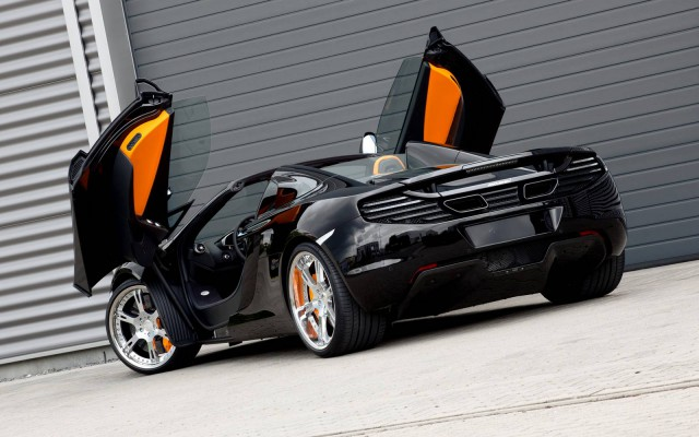 Official: 2013 McLaren 12C Spider British Open by Wheelsandmore