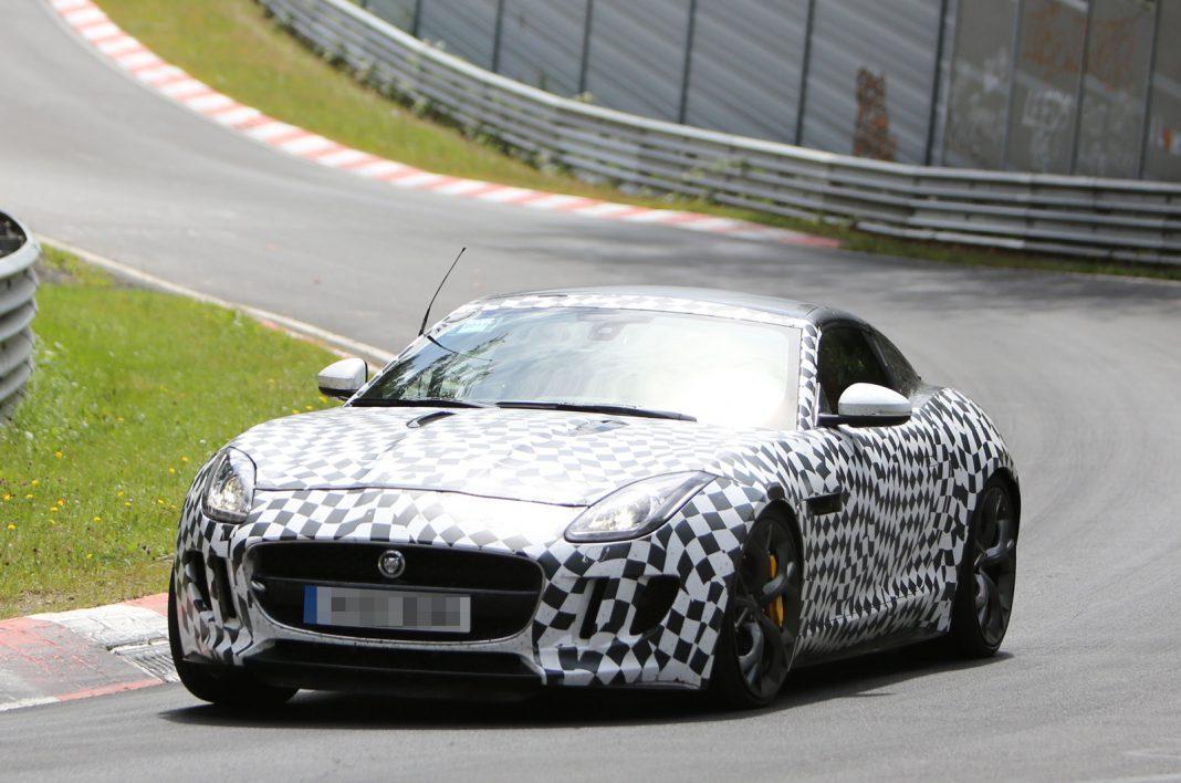 Spyshots: 2014 Jaguar F-Type R Coupe