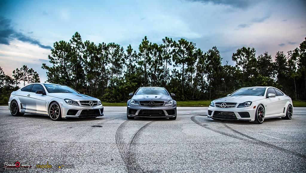 C63 AMG Black Series Trio