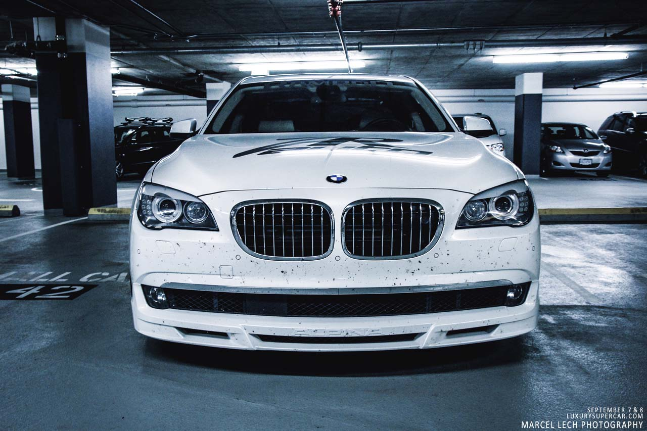 BMW Alpina B7 Present At The Canadian Bullrun Launch Party
