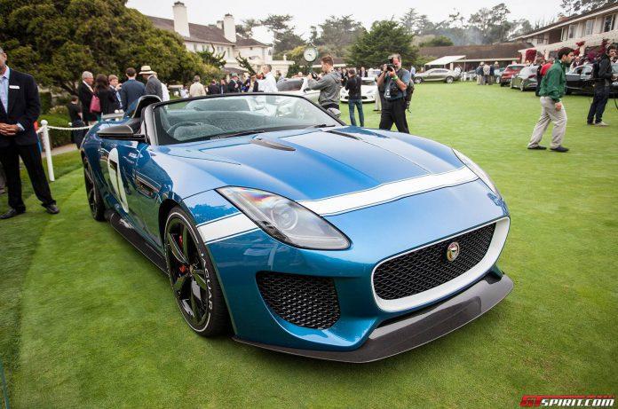 Jaguar F Type Project 7 at Monterey 2013
