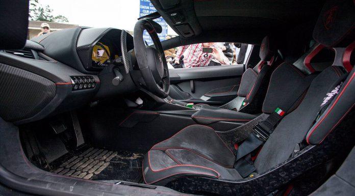 Lamborghini Veneno Monterey Interior