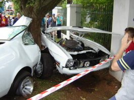 Car Crash: Ford Mustang Mach 1 Destroyed in South Africa
