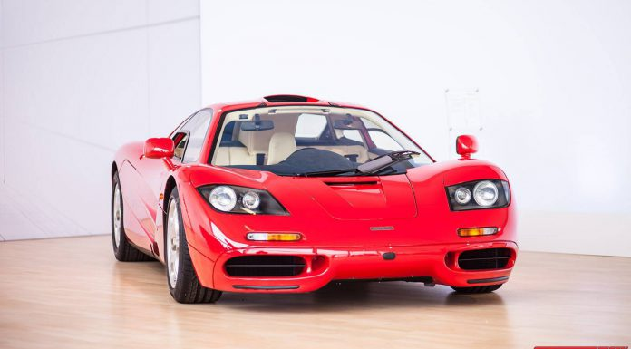 McLaren F1 at Pebble Beach 2013