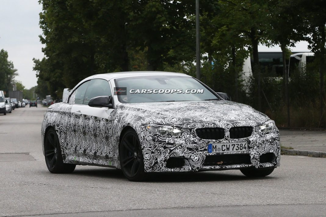 Spyshots: 2014 BMW M4 Convertible Snapped for the First Time