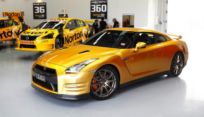 Australian Receives his 2014 Nissan GT-R Usain Bolt Edition