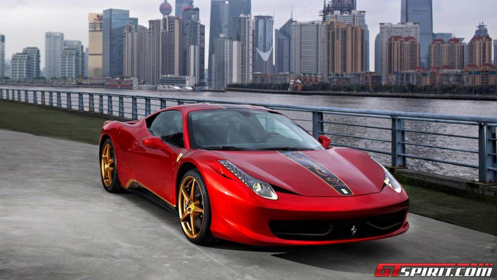 China's Ferrari 458 Italia Price of $723,923 Leads to