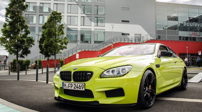 Photo Of The Day: Lime Green BMW M6 Coupé