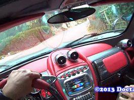Point of View Pagani Huayra Drive