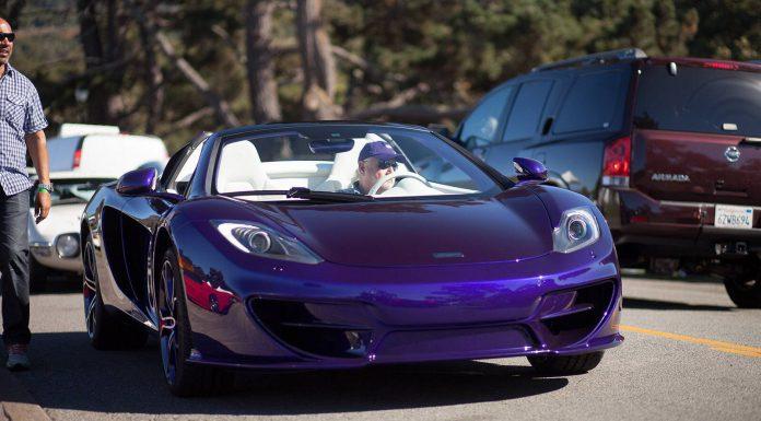 Purple McLaren 12C Spider by MSO