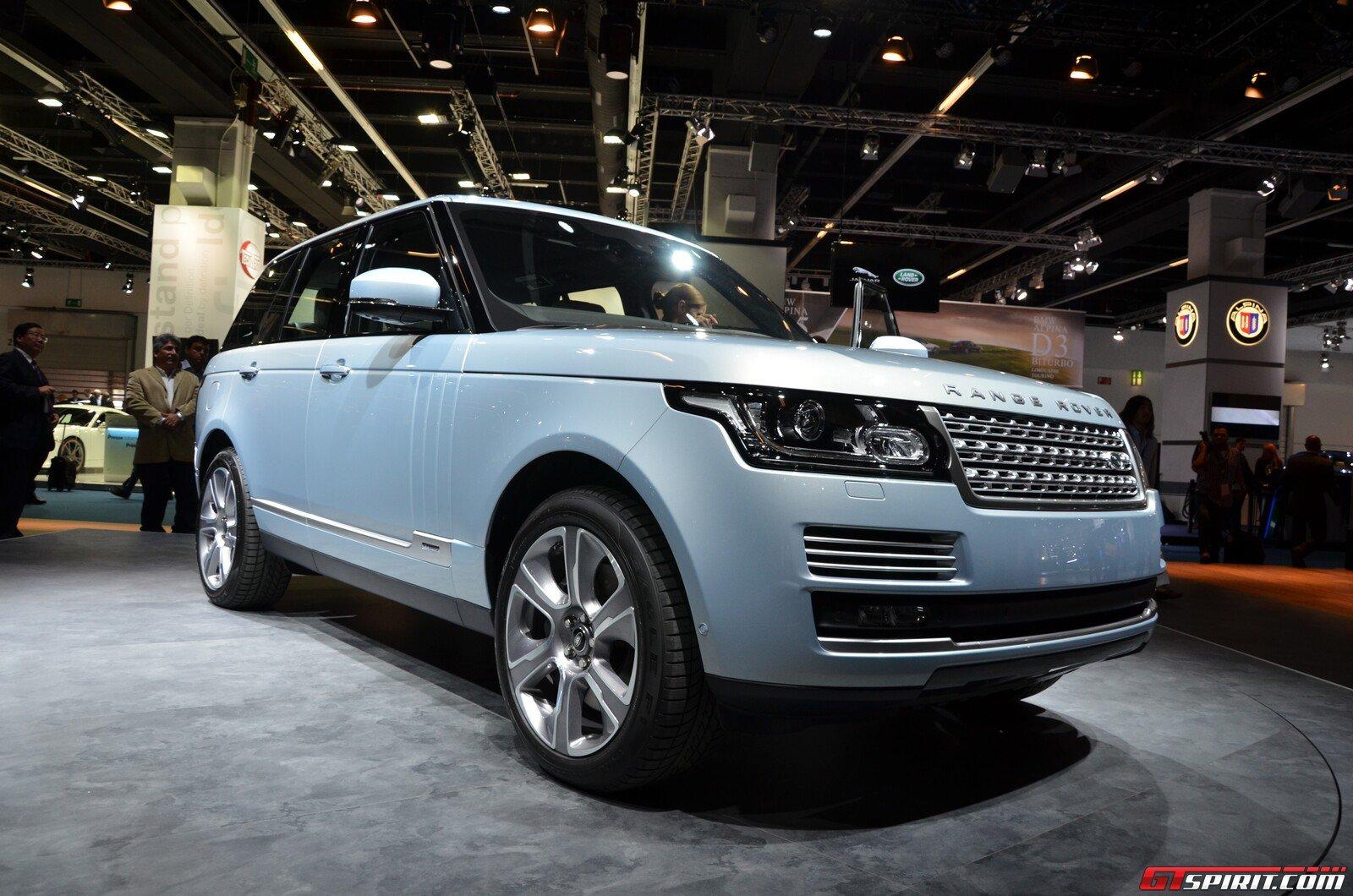 frankfurt 2013 range rover hybrid gtspirit. Black Bedroom Furniture Sets. Home Design Ideas