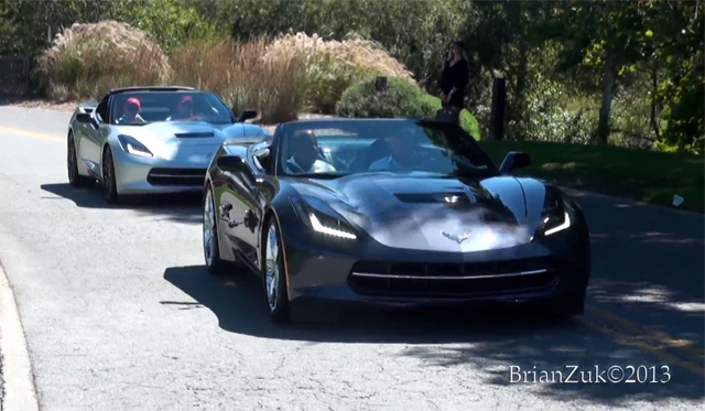 Video: Jay Leno Spotted Driving 2014 Chevrolet Corvette Stingray Convertible