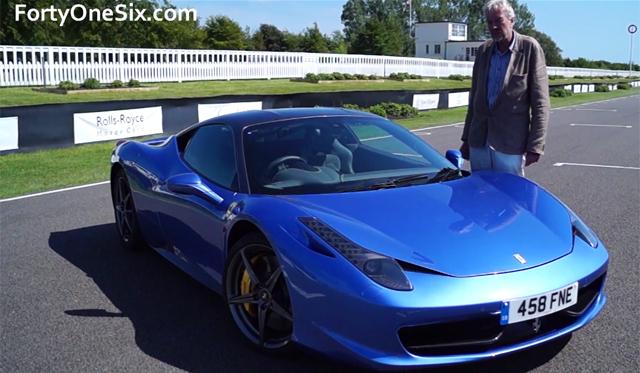 Video: Blue Ferrari 458 Italia With Almost £100k in Options