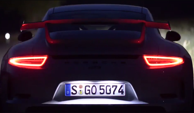 Video: 2014 Porsche 911 GT3 – Feast for the Senses
