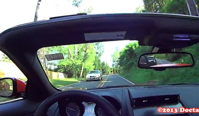 Video: POV Drive in 2014 Jaguar F-Type V8 S