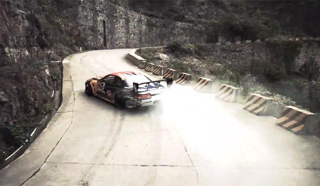 Video: Red Bull's Insane 99-Turn Chinese Drifting Spectacular