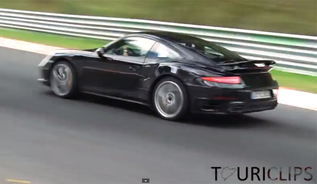 Video: 2014 Porsche 911 Turbo Testing Hard at the 'Ring