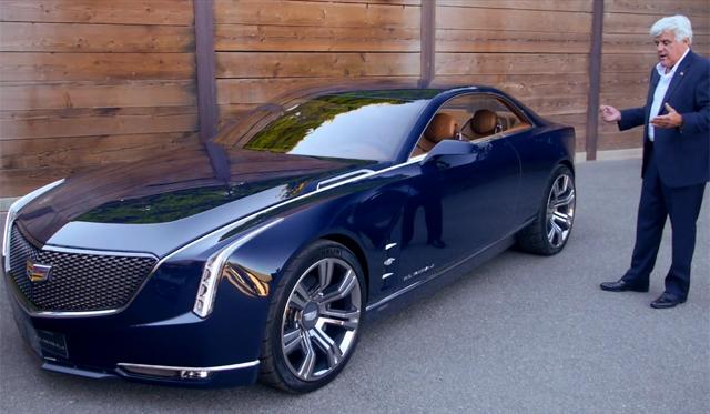 Video: Jay Leno Previews Cadillac Elmiraj Concept