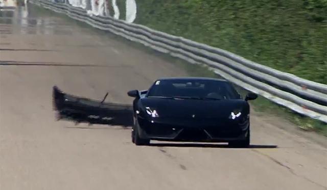 Video: 1800hp Lamborghini Gallardo LP570-4 Losses Rear Bumper at Unlim 500+