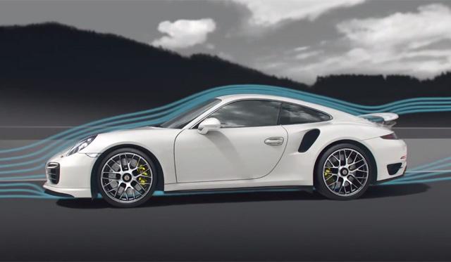 Video: Porsche Explains Active Aero of 2014 911 Turbo