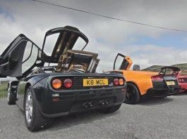Video: McLaren F1 vs Ferrari F40 vs F50 vs Zonda F vs M600 vs Carrera GT vs Murcielago SV!