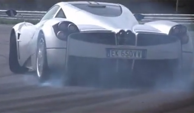 Video: Chris Harris Drifts Pagani Huayra for GRID 2