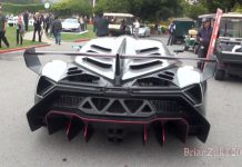 Video: Lamborghini Veneno Driving at Monterey 2013