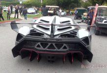 Video: Lamborghini Veneno Driving at Monterey 2013