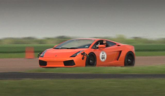 Video: Seven Underground Racing Lamborghini Gallardos at Texas Invitational